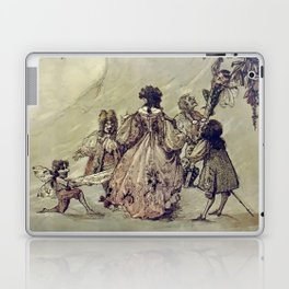 """The Fairies Ascent"" by A. Duncan Carse Laptop & iPad Skin"