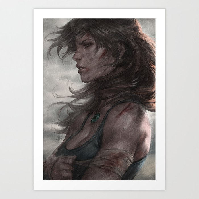 Discover the motif SURVIVOR by Stanley Artgerm Lau as a print at TOPPOSTER