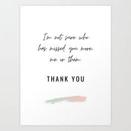 Funny Teacher Card Art Print