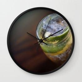 Fine Coktail Drink Wall Clock