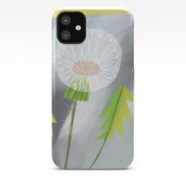 Twilight Dandelion Puff iPhone Case