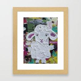 Lambie Framed Art Print