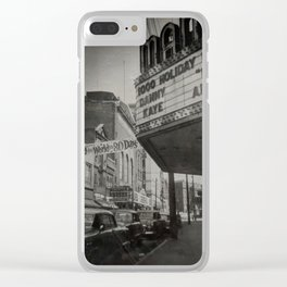 Snap from the Past Clear iPhone Case