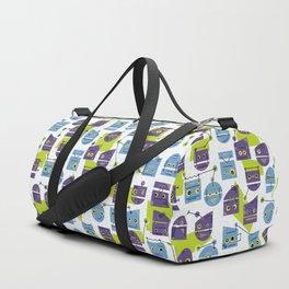 Robots Doodle Duffle Bag