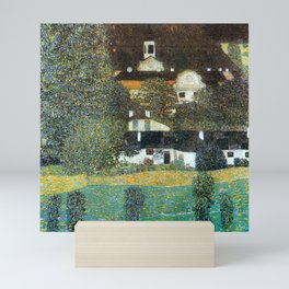 "Gustav Klimt ""Schloss Kammer on the Attersee II"" Mini Art Print"