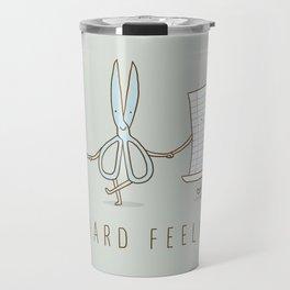 No Hard Feelings Travel Mug