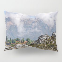 CLOUDS RISING ON MOUNT SEFRIT Pillow Sham