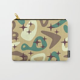 Retro Mid Century Modern Abstract Composition 940 Carry-All Pouch