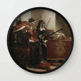 Jean-Paul Laurens - The Pope and the Inquisitor Wall Clock