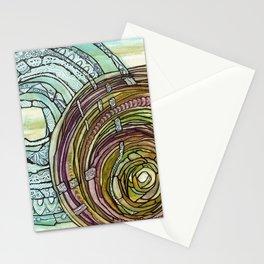 Double Mandala Stationery Cards