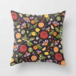 Citrus Grove Throw Pillow