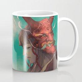 The Oni Mask Coffee Mug