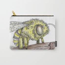 The Fluffy Bee Carry-All Pouch