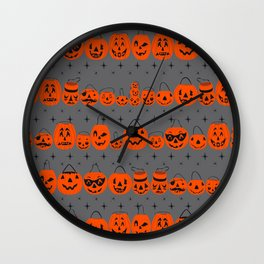 Trick Or Treat Smell My Feet- Gray Wall Clock