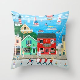 A Star Spangled Day Throw Pillow