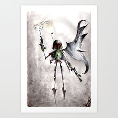 The Fett Art Print
