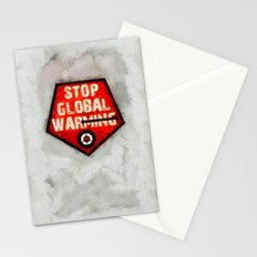STOP GLOBAL MING ! Stationery Cards