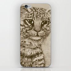 Ocelot Watching, by Ave Hurley iPhone & iPod Skin