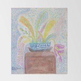 Flowers 2 Throw Blanket