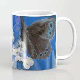 Butterflies in Blue Coffee Mug