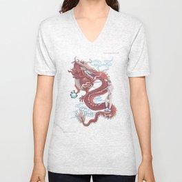 Treasure Dragon Unisex V-Neck