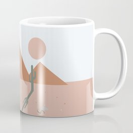 High Desert Shadows Coffee Mug