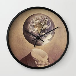 Each Head Is A World Wall Clock
