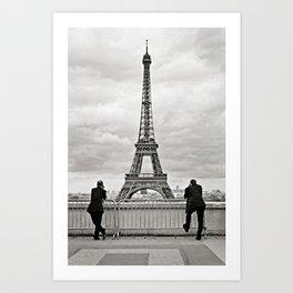 Business as Usual {in Paris} Art Print