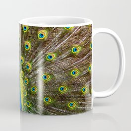 Colorful peacock Coffee Mug