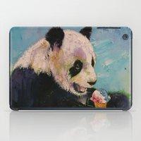 ice cream iPad Cases featuring Ice Cream by Michael Creese