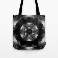 grim fandango Tote Bags featuring Grim by Loesj