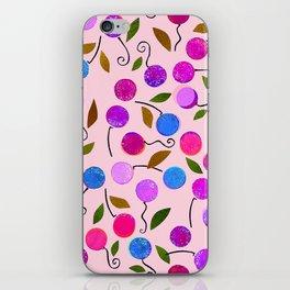 cherry-berrie jumble ... iPhone Skin