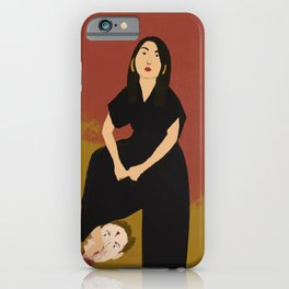 Girls just wanna have fun (killing your idols) iPhone Case
