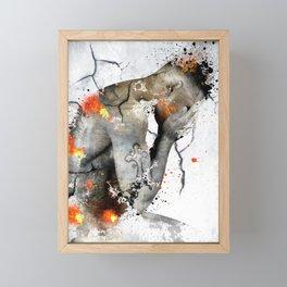 nude explore Framed Mini Art Print