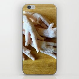 Chicken Feet without Toenails iPhone Skin