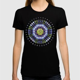 Om Shanti Fractal Geometry series #1 T-shirt