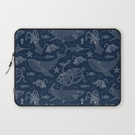 By Star or By Sea Laptop Sleeve
