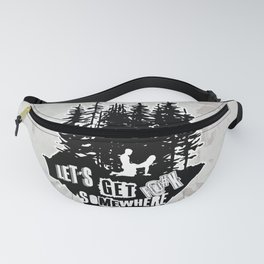 Let's Ride Fanny Pack