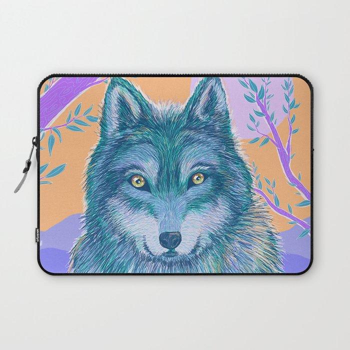 Wolf and Desert 2 Laptop Sleeve