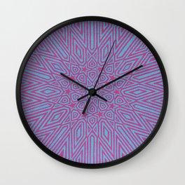 Vibrations Wall Clock