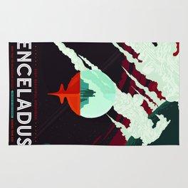 Vintage poster -Enceladus Rug