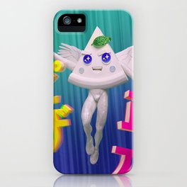 Cute Sexy Pizza Angle iPhone Case