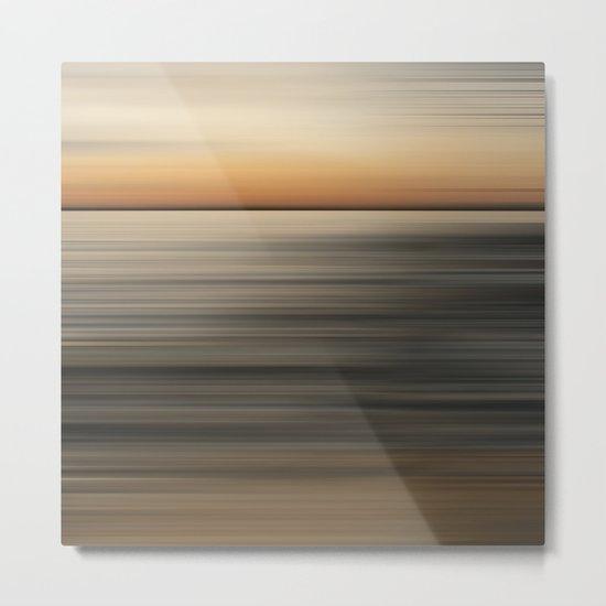 Sundown North Metal Print