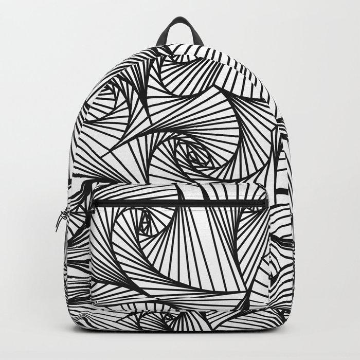 Fractal Sketch Light Backpack