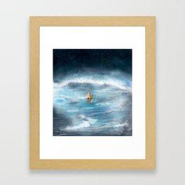 I'll cross Framed Art Print