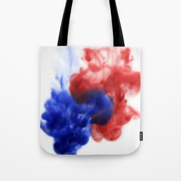Patriotic Ink Drop Tote Bag