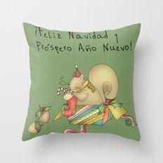 Navidad Throw Pillow