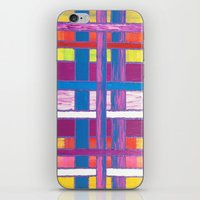 agnes cecile iPhone & iPod Skins featuring Agnes Windyknickers by John Donlon