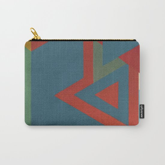 Geometric Thoughts 7 Carry-All Pouch