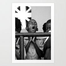 Praise The....(Yawn) Art Print